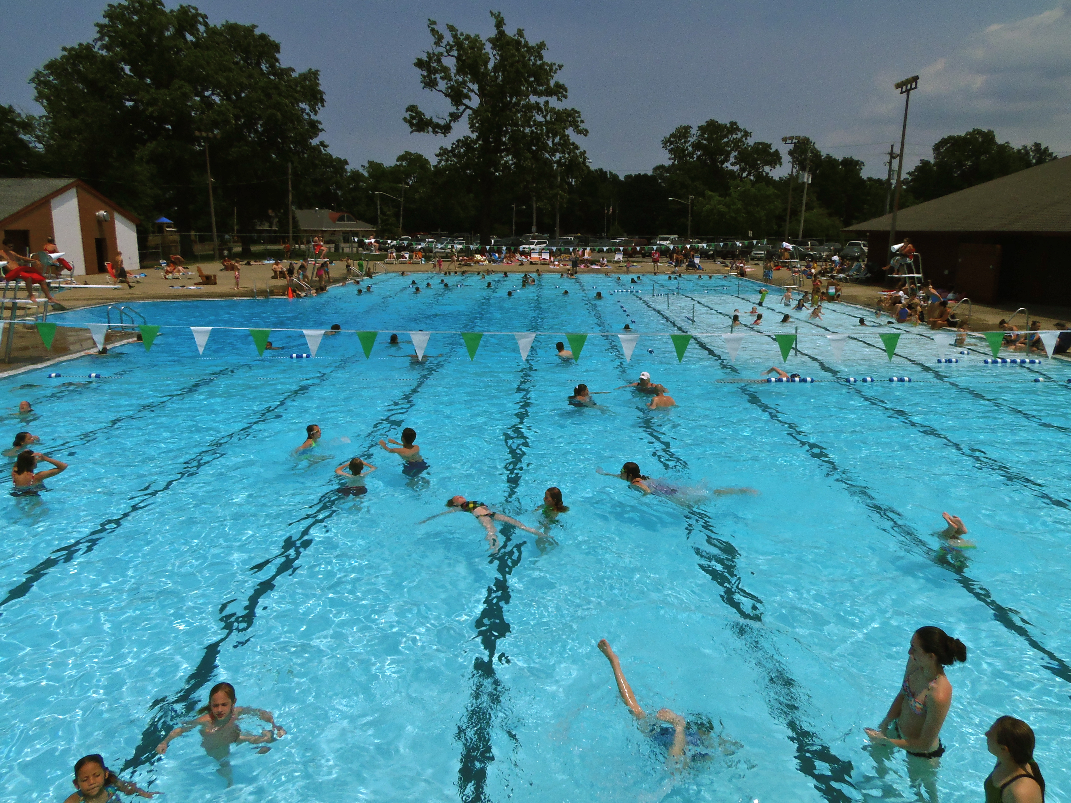 Summer fun at Foster Pool