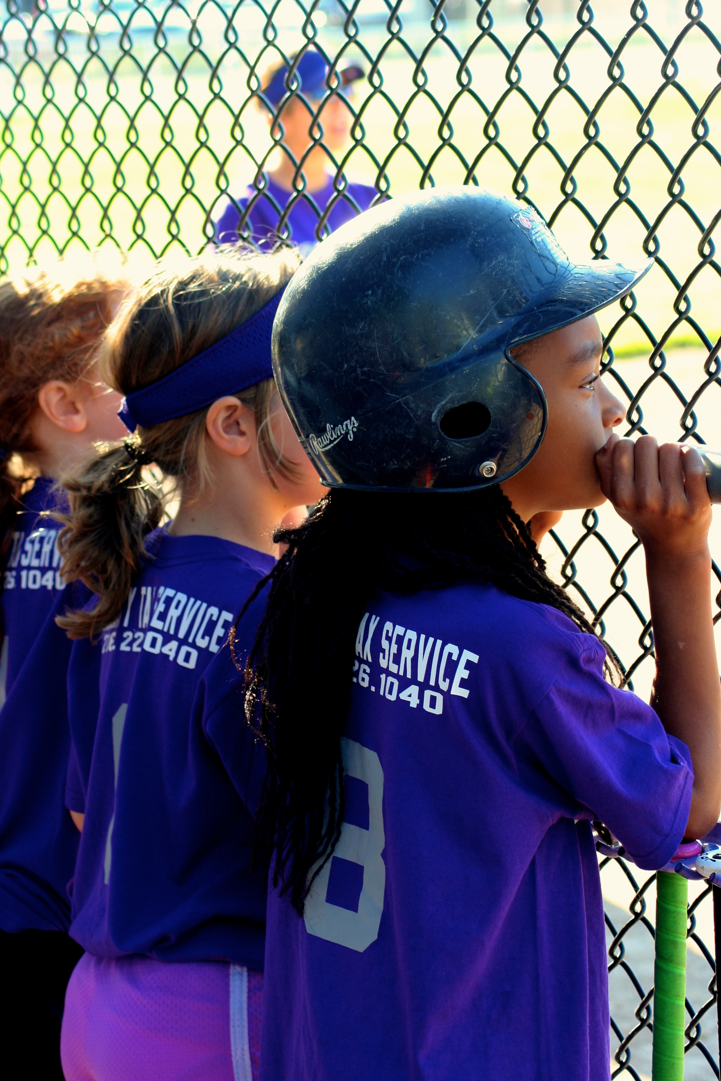 Score and assist with youth baseball and tball