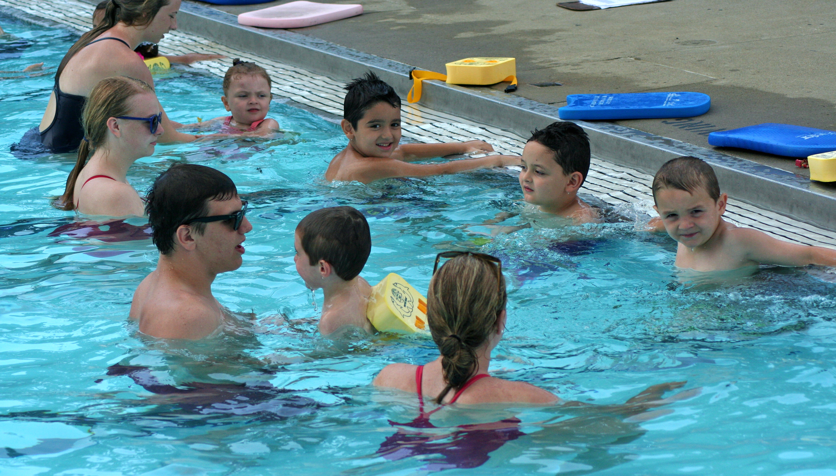 Safe, fun, affordable learn-to-swim